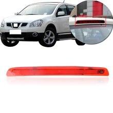 CAPQX dla Nissan QASHQAI J10 2008 2009 2010 2011 2012-2014 tylne dodatkowe światło hamowania trzecie wysoko montowane światło centrum stop lampa