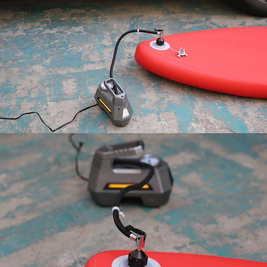 Adaptador de Bomba de Bote Inflable Adaptador de Bomba de Sup Adaptador de Bomba de Inflable de Cobre Goma para de Bote Inflable