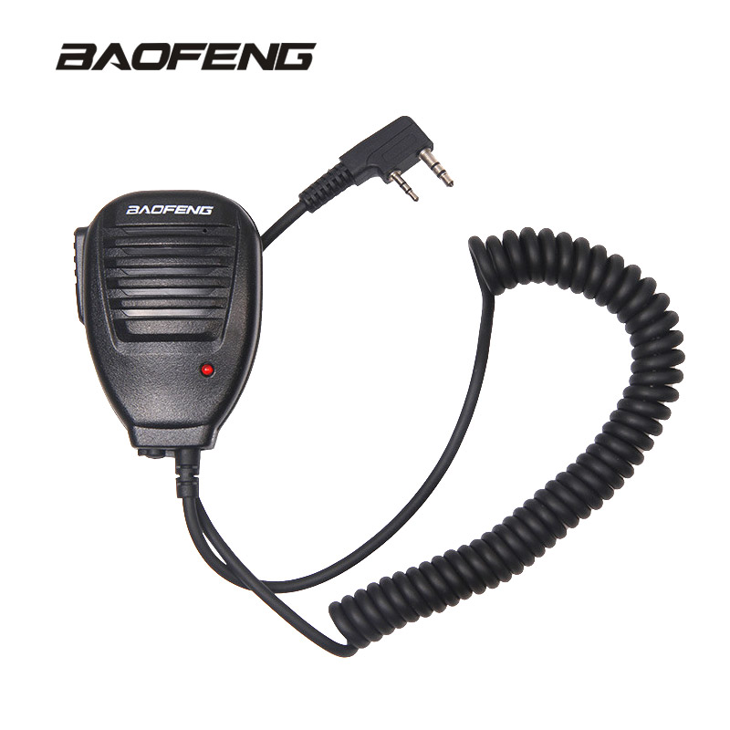 Radio Handheld Microphone Speaker MIC For Walkie Talkie UV-5R Portable Two Way Radio UV 5R BF-888S PTT Earphone Accessories