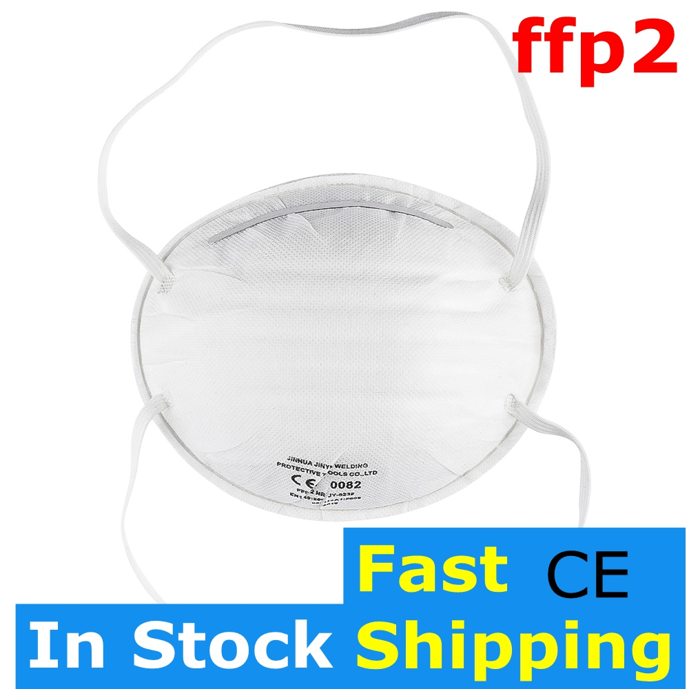 1Pcs FFP2 Non Woven Masks Disposable Face Masks Anti-Dust Anti-fog Mouth Mask Pm2.5 Anti Protective Face Mask N95