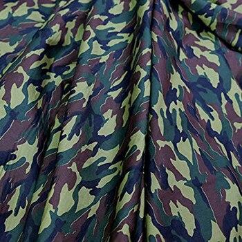 Tela de algodón de 145X50cm, tela estampada de camuflaje para coser, tela para Patchwork, costura Diy, Material hecho a mano