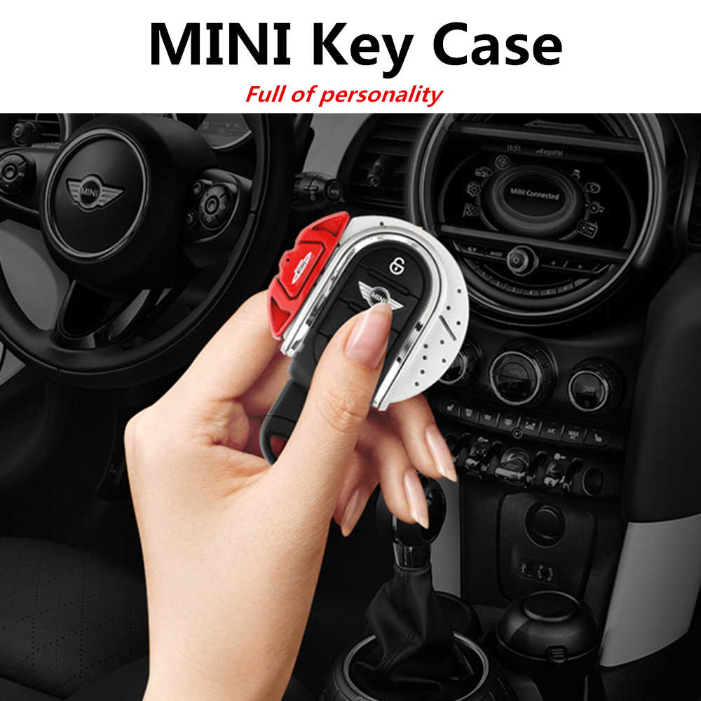 Mini Cooper S JCW una F54 F55 F56 F57 F60 compatriota llavero de ajuste anillo de llave de la cubierta del caso para funda para llave MINI Cooper F56
