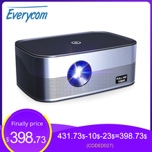 Everycom 1080P Full HD Projector D027 LCOS technology Androi