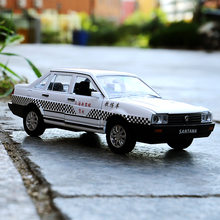Menino brinquedo morre-moldes treinador modelo de carro com som luz veículo presente para crianças 1:32 negócios-van-santana learner-driven veículo