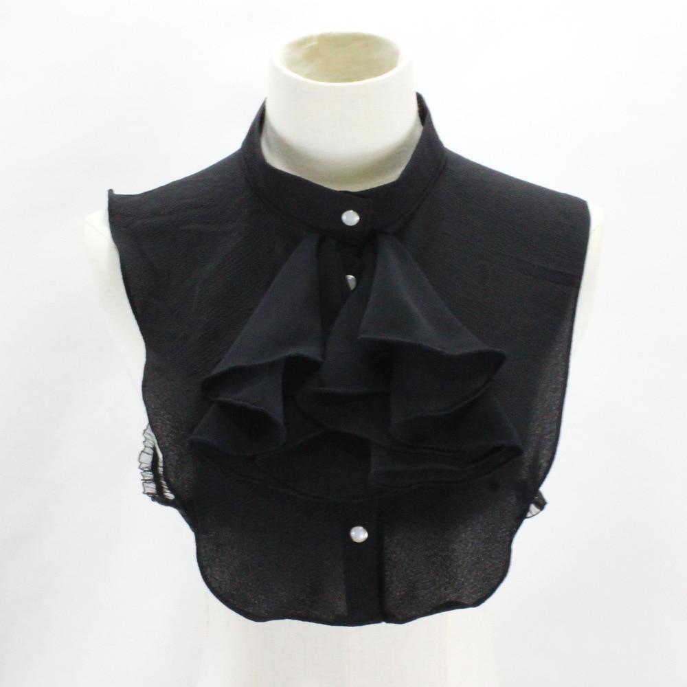 Court Chiffon Shirt Lead Occupation Suit Decoration Lead Dickiefake Collar