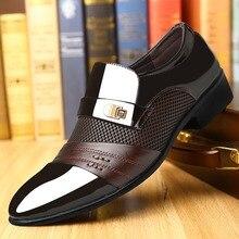 Summer Men Dress Shoes Plus Size Men For