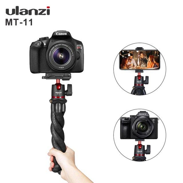 Штатив Осьминог Ulanzi для смартфона, DSLR, SLR, Vlog, 2 в 1, переносной штатив с удлинителем 1/4 дюйма для Magic Arm
