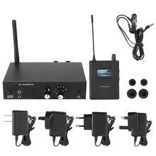Для ANLEON S2 стерео 526-535 МГц беспроводной монитор в ухо система для сценического студийного мониторинга пола подходит для свадеб