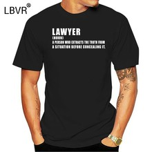 Lawyer T-Shirt Gift For Lawyer Profession Funny Tee Shirt Summer Men'S fashion Tee,Comfortable t shirt,Casual Short Sleeve TEE(China)