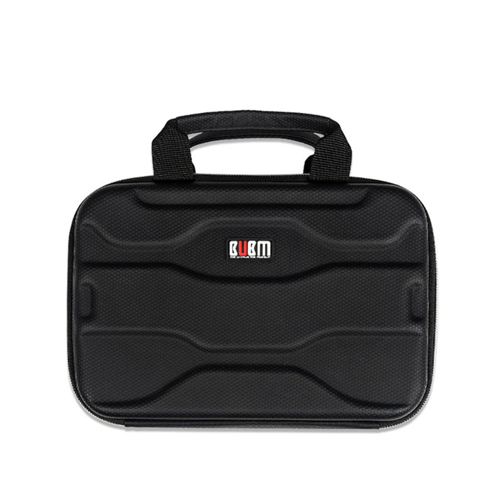 BUBM Electronic Storage Bag Shock Proof Hard Shell <font><b>Travel</b></font> Gadget <font><b>Case</b></font> with Handle for Cables <font><b>Notebook</b></font> Organizer image