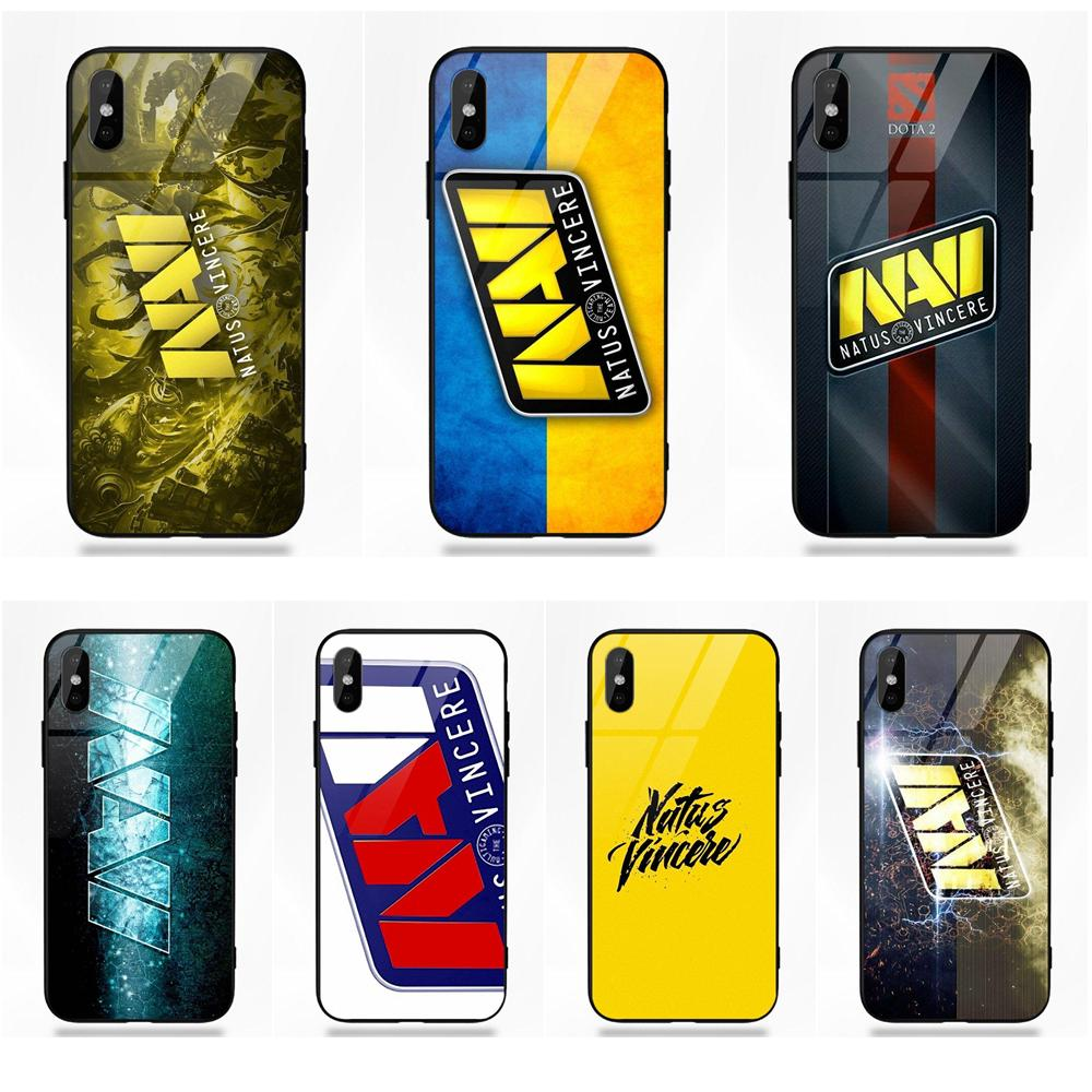 Pop Navi Natus Vincere <font><b>Logo</b></font> Aufkleber Für Apple <font><b>iPhone</b></font> 5 5C 5S SE 6 6S 7 8 Plus X XS Max XR image