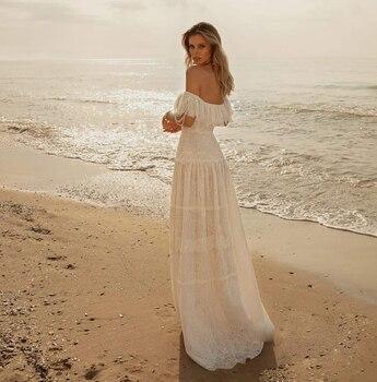 Robe Mariée Bohème Chic Rose