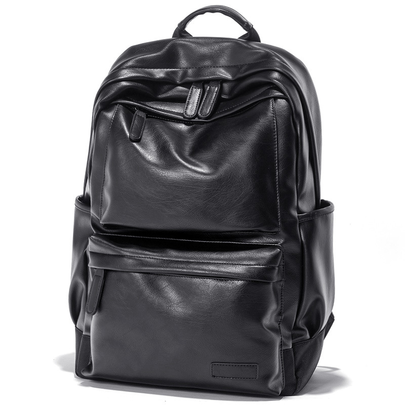 2020 à prova dwaterproof água 15.6 Polegada portátil mochila mochilas de couro para adolescente viagem casual daypacks masculino