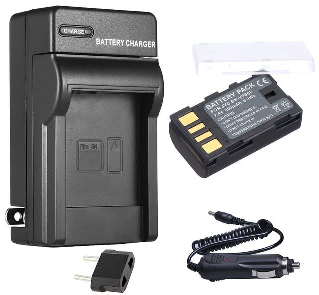 Gr-d728 /& More Gr-d728ex Gr-d726 Complete Starter Kit Gr-d726ex Gr-d728us Car//home Charger for JVC Gr-d726us Gr-d726ek Bn-vf823 High-capacity Battery Camcorder Gr-d728ek Bnvf823