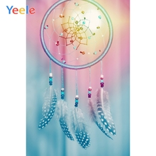 Yeele Decor Photocall Ins Lights Hanging Ornament Photography Backdrops Personalized Photographic Backgrounds For Photo Studio
