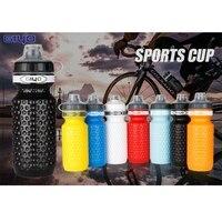 600ml Tragbare Außen dicht Sportlich Sport Squeeze Wasser Flasche Radfahren Fahrrad Wasserkocher Wiederverwendbare Trinken Tasse-in Fahrrad-Trinkflasche aus Sport und Unterhaltung bei