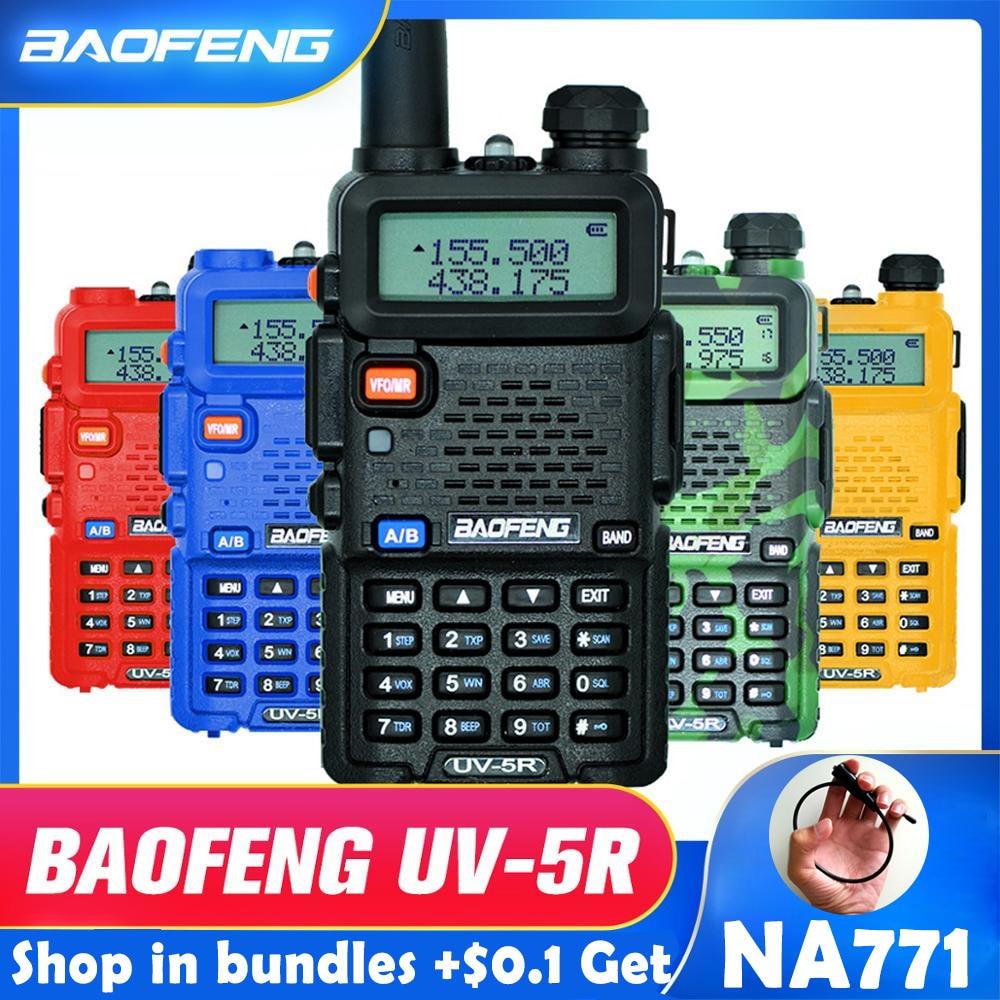 Baofeng UV-5R Walkie Talkie…