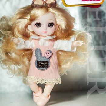Кукла шарнирная 16 см. 6