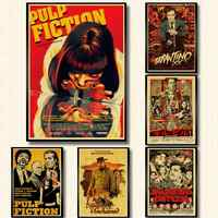 Quentin Tarantino Movie Kill BIll/Pulp Fiction/Django Unchained Retro Poster kraft paper Wall Posters For Home Room Painting