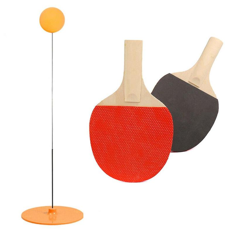 Elastic Ping Pong Ball Training Trainer Soft Shaft Table Tennis Ping Pong Ball Sport Toy Training Kit For Home