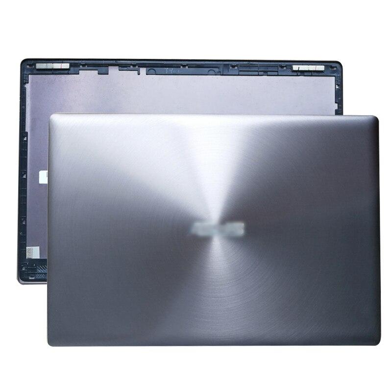 Housse arrière d'origine pour ordinateur portable LCD pour ASUS UX303L UX303 UX303LA UX303LN gris sans contact/avec écran tactile