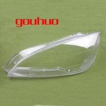 Крышка фары стекло прозрачный абажур лампа тень передняя фара оболочка для Ford Mondeo 04-07 2шт