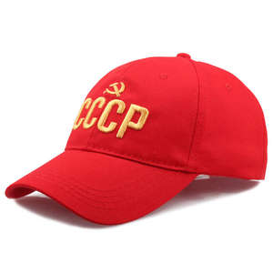 Бейсболка с вышитыми надписями CCCP в русском стиле из 100% хлопка для взрослых мужчин и женщин, шапка для папы, bone Garros