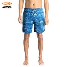 Surfing Board AXESEA Shorts Swimwear Trunks Quick-Dry Pocket Volley Men
