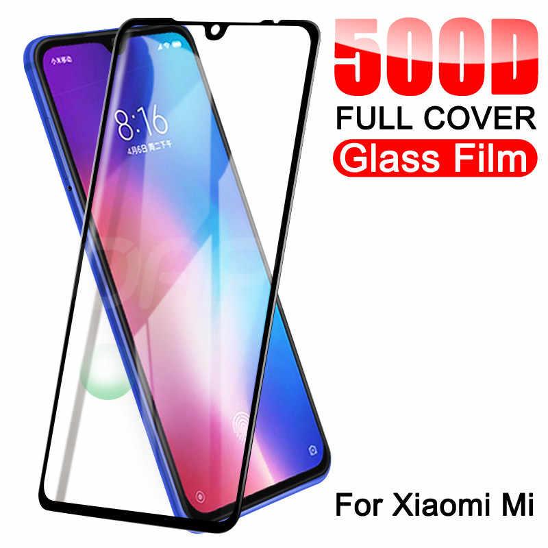 500d protetor de vidro temperado para xiaomi mi 9 8 10 lite protetor de tela vidro xiaomi mi 9 8 se 9t cc9 cc9e jogar filme de vidro f1