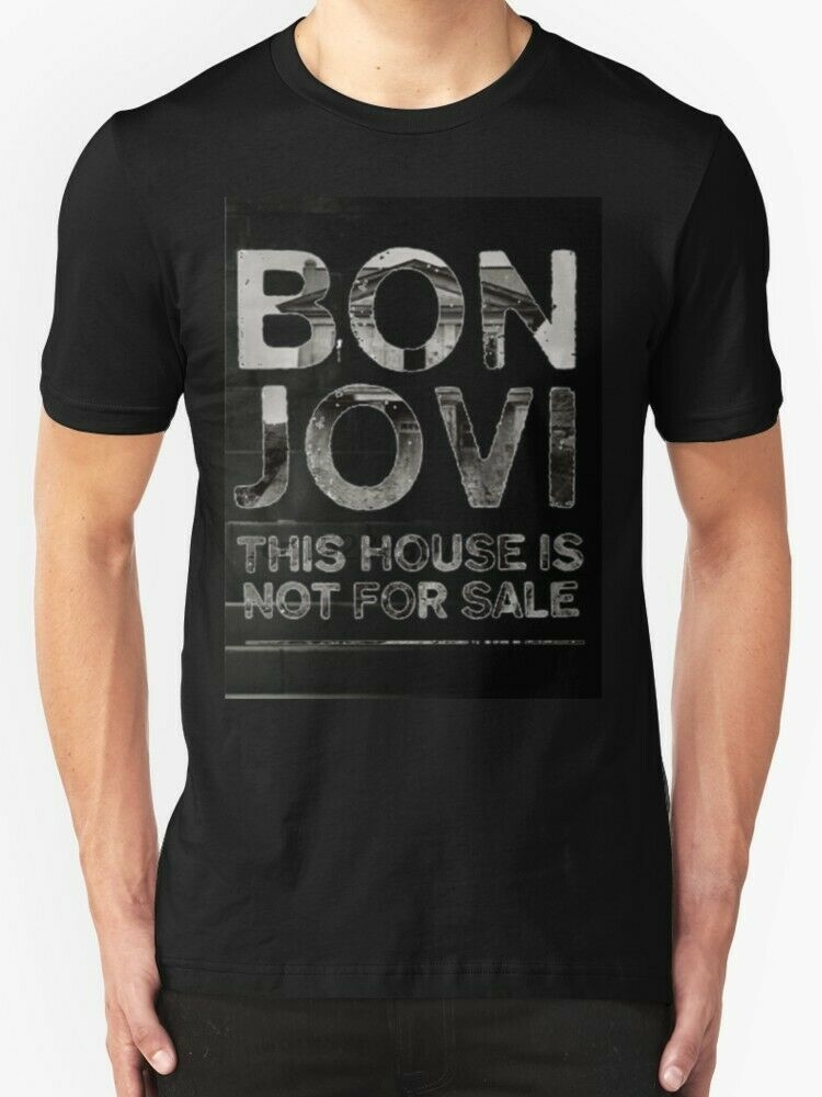 Bon Jovi T-Shirt Resbaladizo Cuando Mojado gira Europea 1986 Todas las Tallas Nuevo Oficial
