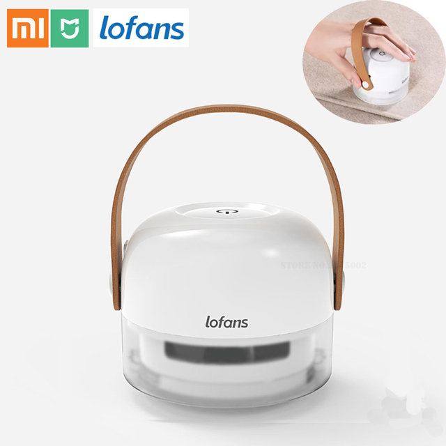 Xiaomi Lofans Draagbare Lint Remover 8 Blades Hair Ball Trimmer Trui Remover 3W 7000r/Min Motor Trimmer Type C Opladen Poort
