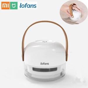 Image 1 - Xiaomi Lofans Portable charpie dissolvant 8 lames cheveux boule tondeuse chandail décapant 3W 7000r/min moteur tondeuse type c Port de charge