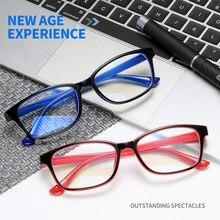 Seemfly retro quadrado terminado miopia óculos de mulher homens óculos ópticos quadros míopes masculino óculos diopter-1.0 a-3.5
