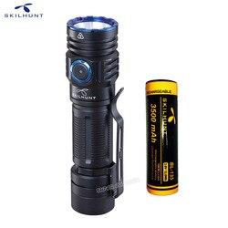NEUE SKILHUNT M300 XHP35 High Power 2000 Lumen EDC Edition USB Magnetic Wiederaufladbare Wasserdichte LED Taschenlampe