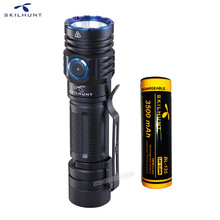 Магнитный светодиодный фонарик SKILHUNT M300 XHP35, 2000 лм, EDC Edition, с зарядкой от USB