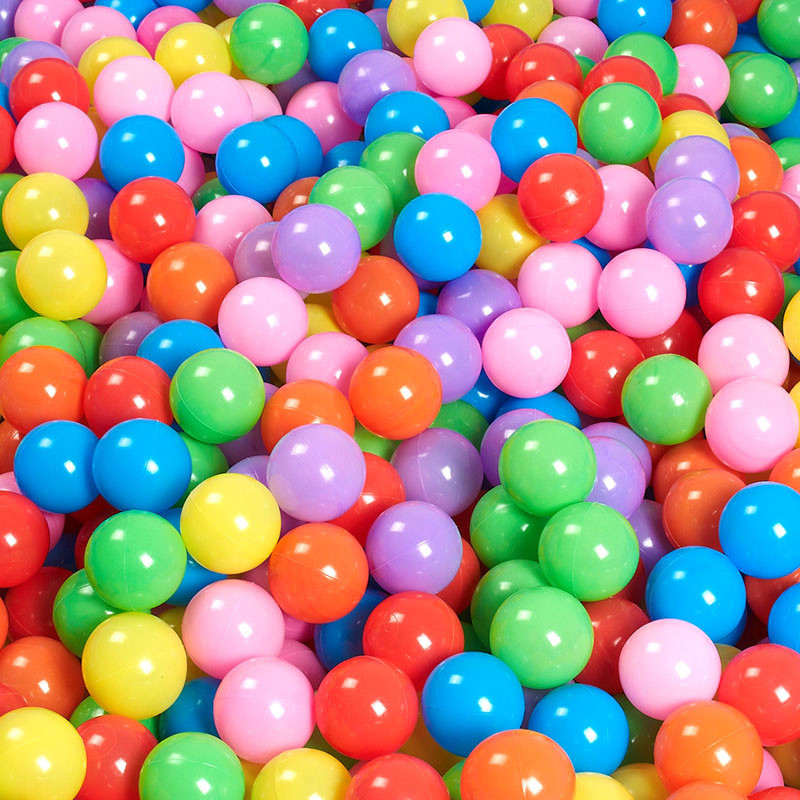 50/100pc Ball Soft Colors Plastic Ocean Ball Eco-Friendly Baby Toys Ball Kid Swim Pit Toy Baby Products Outdoors Wave Ocean Ball