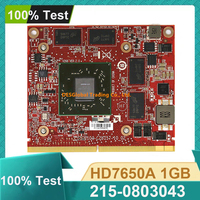 Original HD7650A 215 0803043 Video Graphics VGA Karte Für HP HD 7650A MXM 2GB DDR3 671864 002 arbeits Perfekt Schnelle Versand-in Laptop-Hauptplatine aus Computer und Büro bei