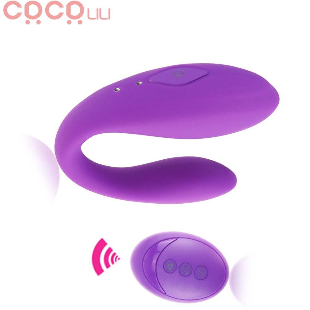 Ruhig Dual Motor U Form G Spot Vibrator Drahtlose Fernbedienung Klitoris Vibratoren Stimulation Sex Spielzeug für Frauen Paar Spielen