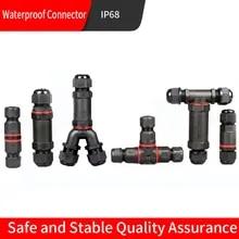 4Stangen IP67 Wasserdicht Verbindungskabel Draht Anschließung Terminal Adpater