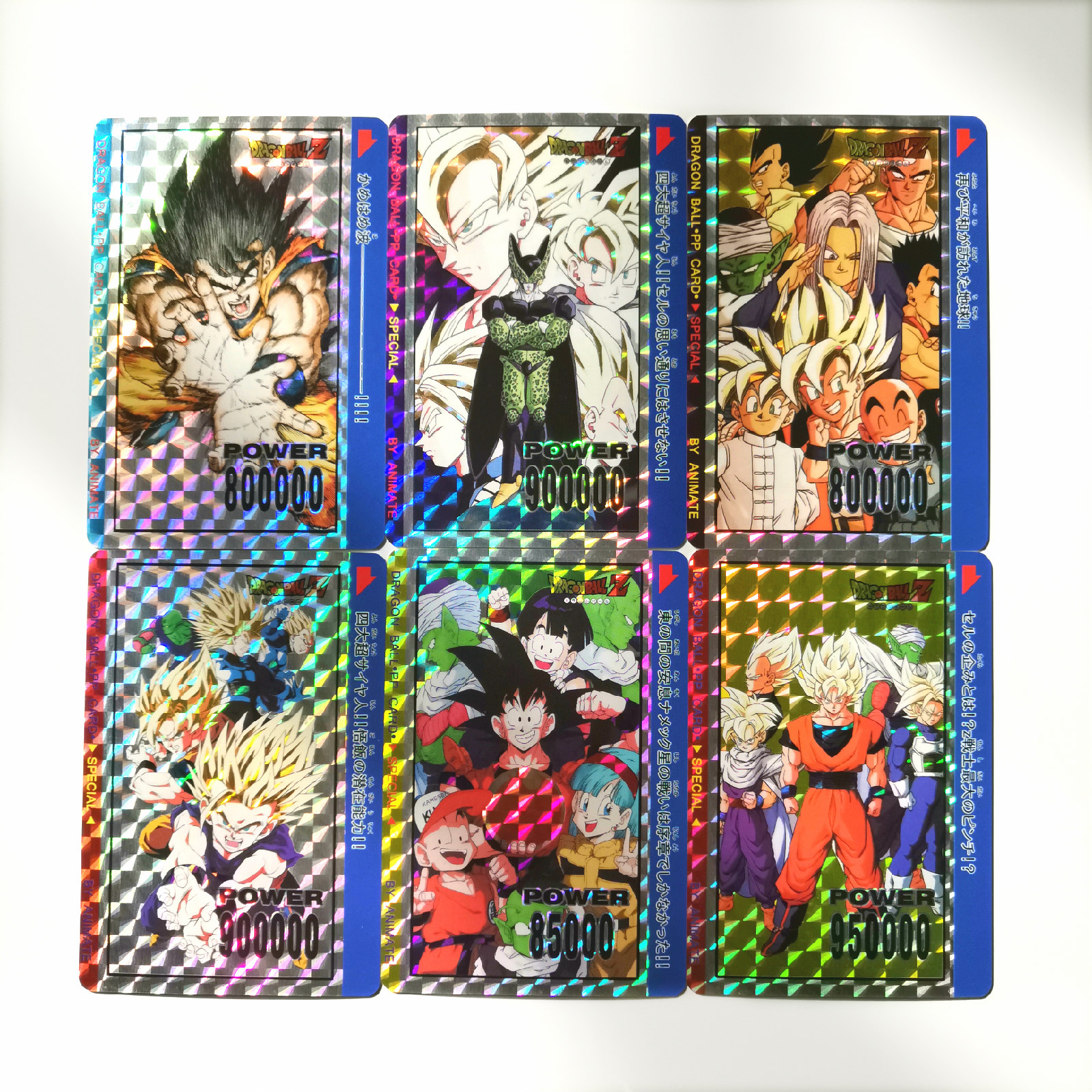 10pcs/set Super Dragon Ball Z PP Heroes Battle Card Ultra Instinct Goku Vegeta Game Collection Cards