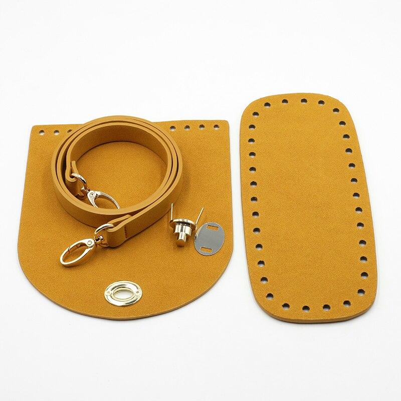 2020 New Shoulder Strap Handmade Handbag Bag Set Leather Bag Bottoms Cover With Hardware Accessories For DIY Handbag #C