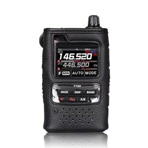 Image 1 - Original walkie talkie caso macio SHC 34 para yaesu FT 3DE/FT 3DR handhled rádio em dois sentidos