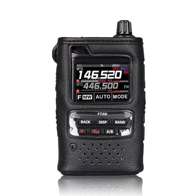 Original walkie talkie caso macio SHC 34 para yaesu FT 3DE/FT 3DR handhled rádio em dois sentidos