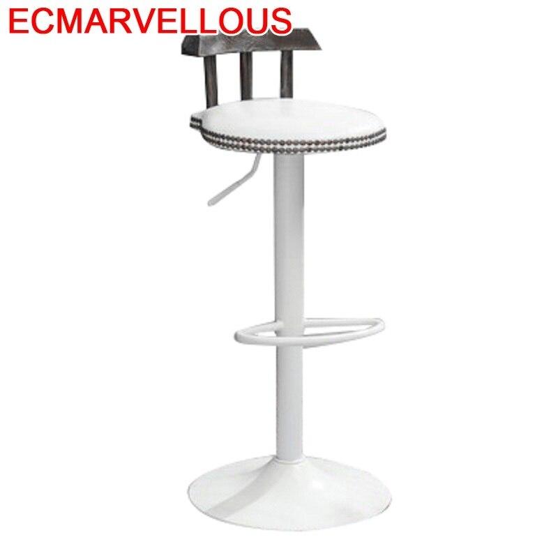 Sgabello Banqueta Silla Para Barra Comptoir Hokery Stoel Industriel Leather Stool Modern Tabouret De Moderne Cadeira Bar Chair