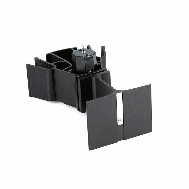Купить вентилятор для камина черный с 4 лопастями экологически чистый