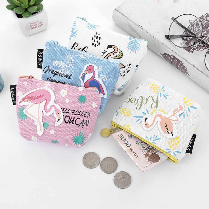 2019 Novo Verão Novas Bolsas de Marca Pequena Moeda Da Carteira Senhora Moda Casual Fresco Saco de Frutas Padrão Dos Desenhos Animados Dinheiro Dólar