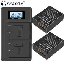 PALO 2Pcs NP-W126 NP W126 NPW126 Batteries+LCD digital Charger for Fujifilm Fuji X-Pro1 XPro1 X-T1 XT1 HS30EXR HS33EXR X PRO1