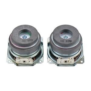 Image 5 - 2 Inch 20W Full Range Subwoofer Speaker 8ohm PP Basin Reflexed Cloth Edge Double Magnetic Long Stroke Desktop DIY 1Pairs