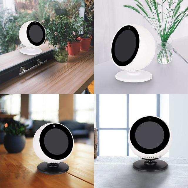 Gosear Fashion 360 Degree Rotation Magnetic Bracket Holder Base Stand Mount Dock for Amazon Echo Spot Smart Speaker Accessories