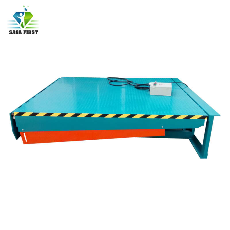 Electric Stationary Fixed Pit Loading Dock Ramp For Loading Bays Of Warehouse